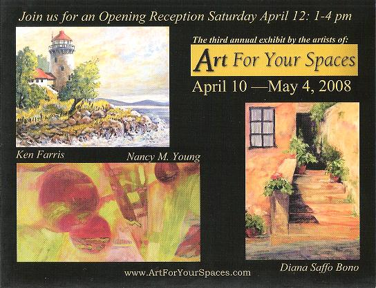 Art For Your Spaces: 3rd Annual Exhibit