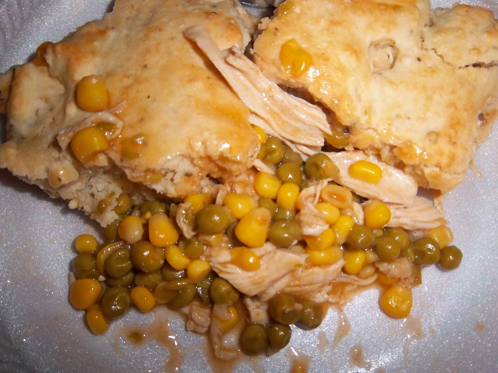 Biscuit topped chicken casserole recipes