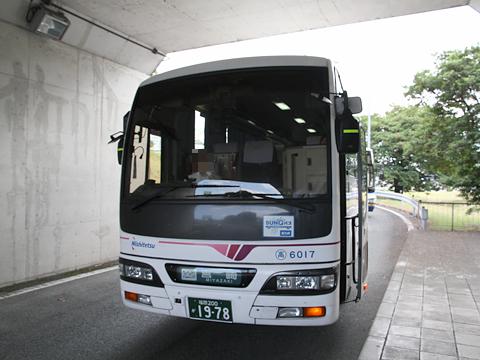 西日本鉄道「フェニックス号」 6017 八代IC到着