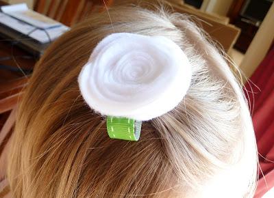 Felt+Hair+Flower+01 Felt Hair Flower: St. Patrick's Edition 9