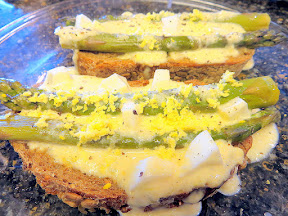 Asparagus Goldenrod recipe