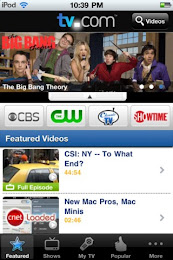 TV.com App Screenshot