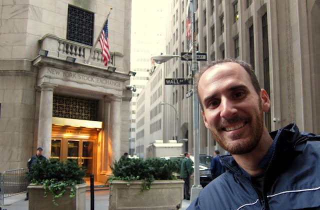 Jack in front of NYSE buliding