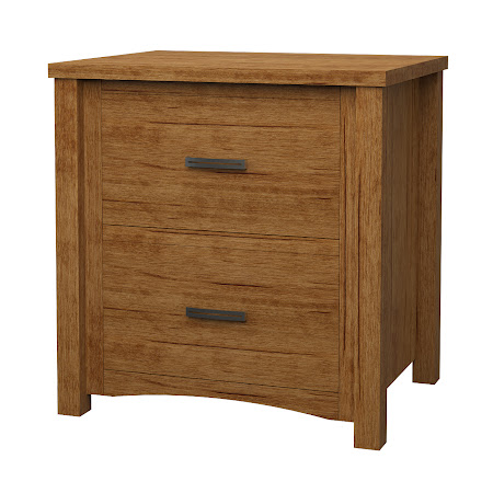 Dakota Lateral File Cabinet in Como Maple