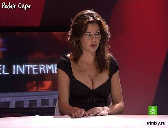 Funlure British Tv Anchor Take A Support From Dresses-2652