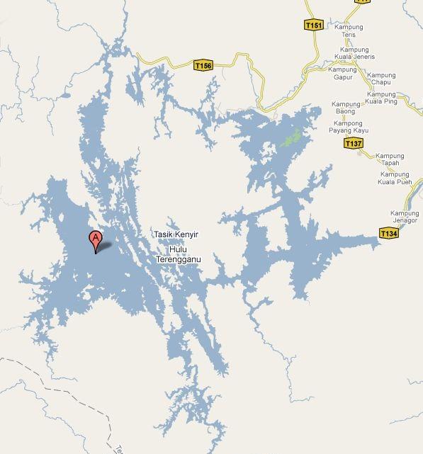 Карта Keniyr Lake