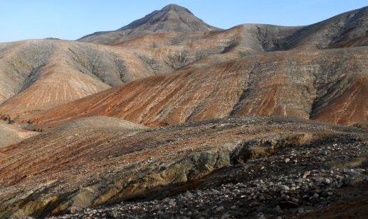 Vulkanberge südlich von Betancuria, Fuerteventura