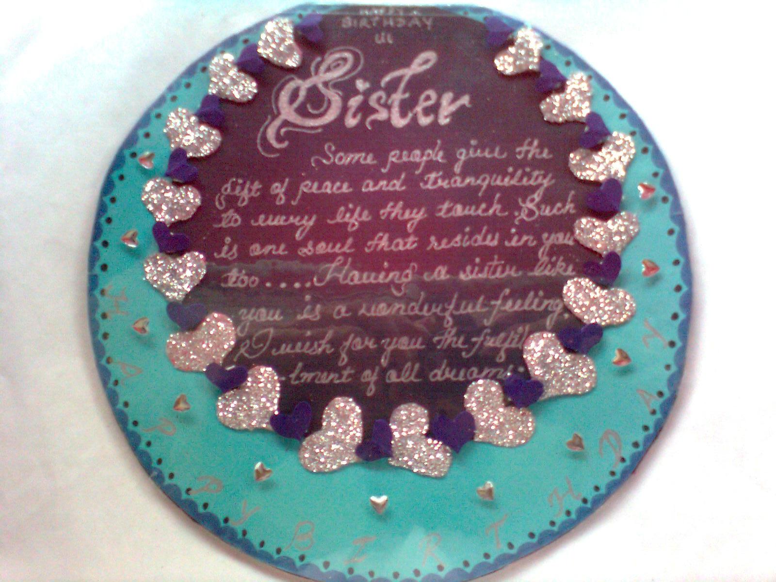 Handmade Cards With Jyoti Sisters Birthday