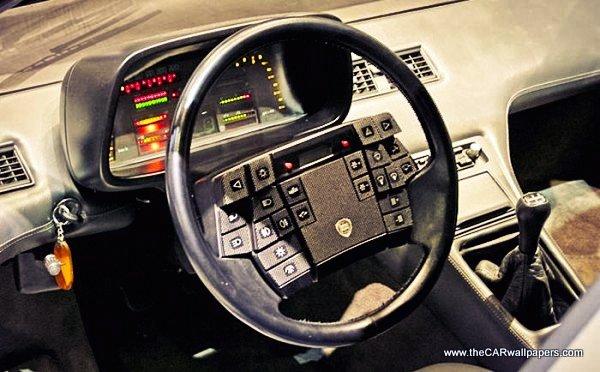 Funny Steering Wheels - Lancia Medusa 1980