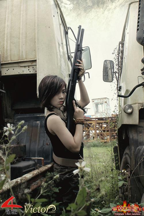 Nhóm Vật Cản công bố bộ ảnh cosplay Đột Kích mới 5