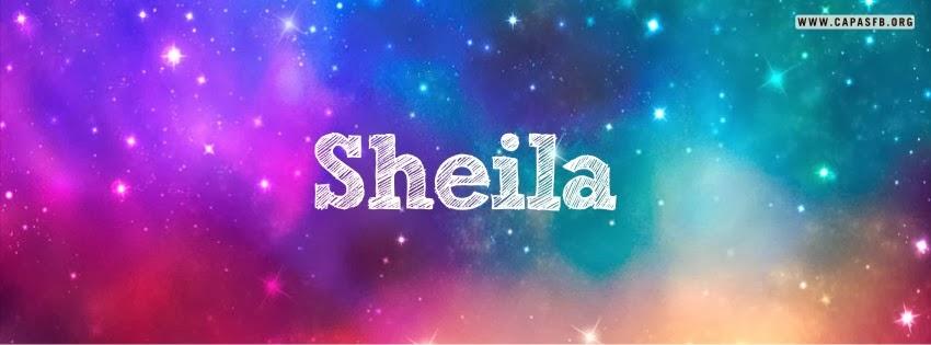 Capas para Facebook Sheila