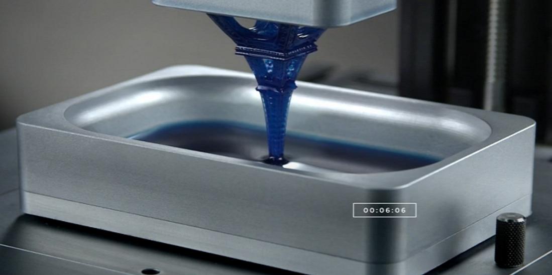 Технология жидкой 3D-печати ускоряет процесс в десятки раз