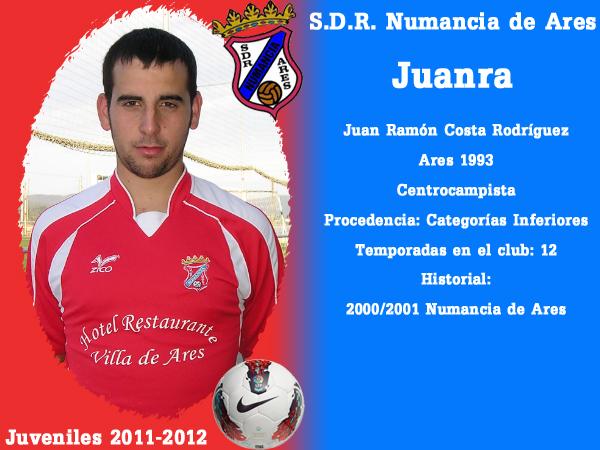 ADR Numancia de Ares. Xuvenís 2011-2012. JUANRA.