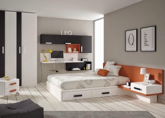 Tipos de camas para dormitorios juveniles - Habitaciones juveniles para chico ...