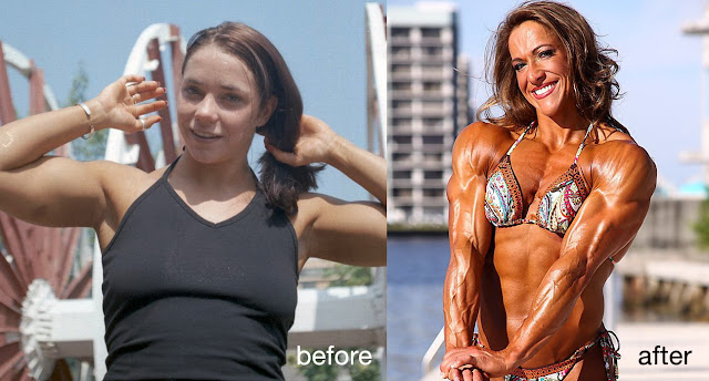 Sarah Hayes transformation