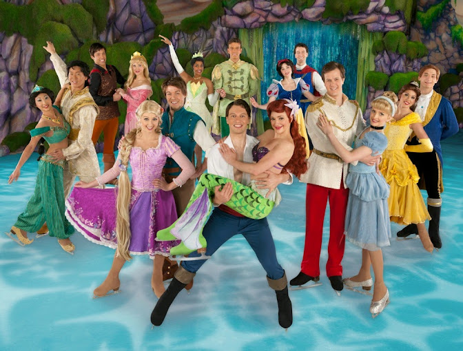 Disney On Ice Princesses and Heroes - The Princesses and Their Heroes