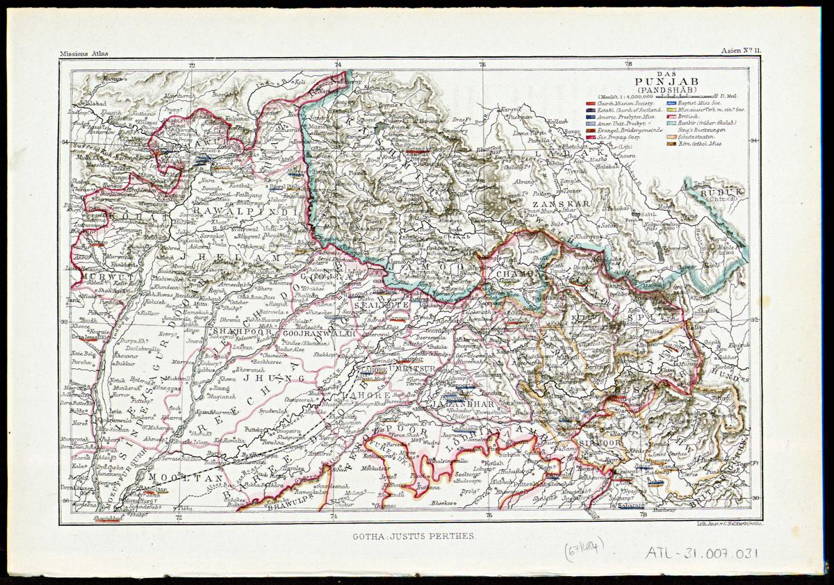 The Punjab - BM Archives