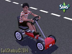 Kart pedales