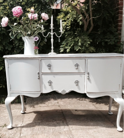 bowiebelle vintage upcycled furniture shabby chic sideboard. Black Bedroom Furniture Sets. Home Design Ideas