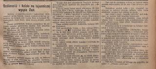 Artykuł z majowego wydania magazynu Katolik w 1925 roku