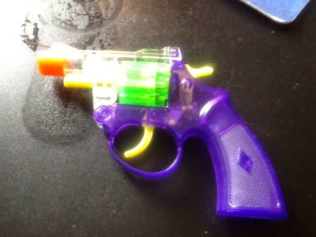 A child's small water gun