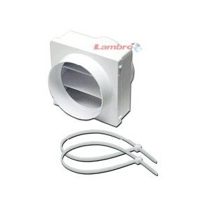 Lambro #1775 In-Line Draft Blocker | Ventilation Bath Fan