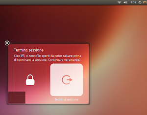 Ubuntu 13.04 - nuove finestre dialogo