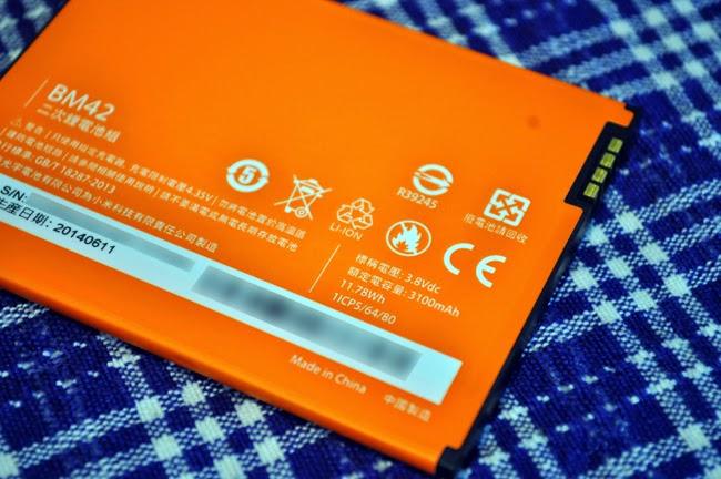 紅米Note增強版電池