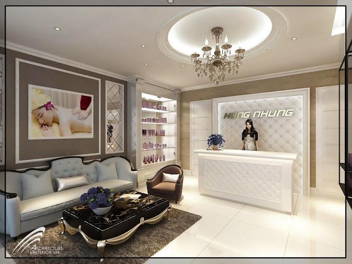 thiết kế nội thất spa Hồng Nhung, thiet ke noi that spa, thiết kế thẩm mỹ viện, thiết kế resort, thi công nội thất spa, thi công thẩm mỹ viện