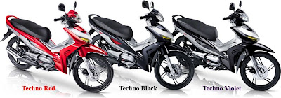 Honda Revo AT Sepeda Motor Injeksi Irit