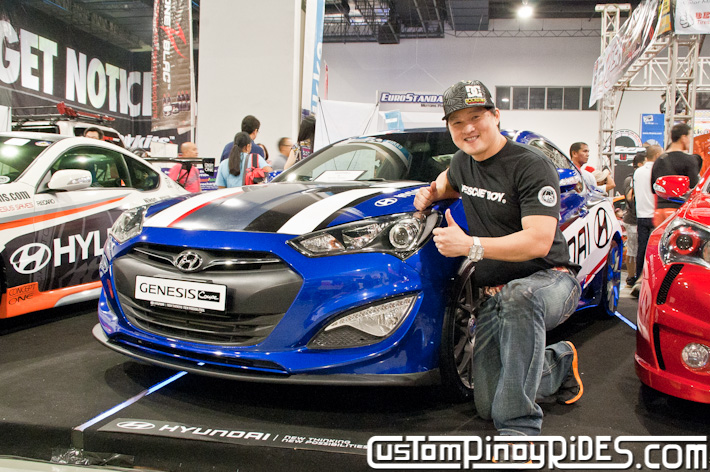 Hyundai Genesis Coupe Body Kit Designs by Atoy Customs 2012 Manila Auto Salon Custom Pinoy Rides pic11