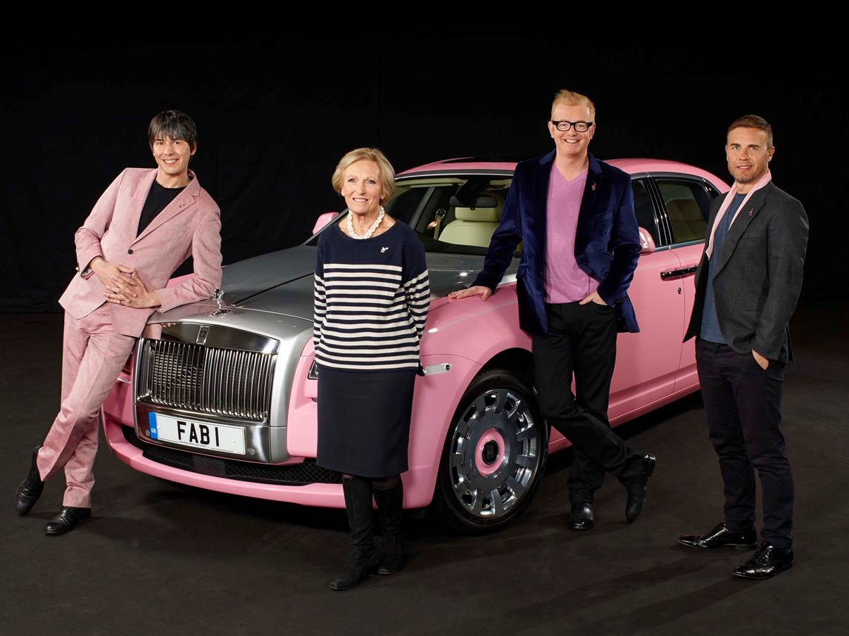 Breast Cancer Care gets Thunderbirds' FAB1 on the Road for New Campaign