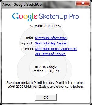 Google SketchUp Pro 8.0.11752 - Maintenance 2 | Released 12/01/2011 Su811752-02