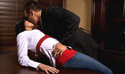 72 Percents Of Office Daters Go Public Cover