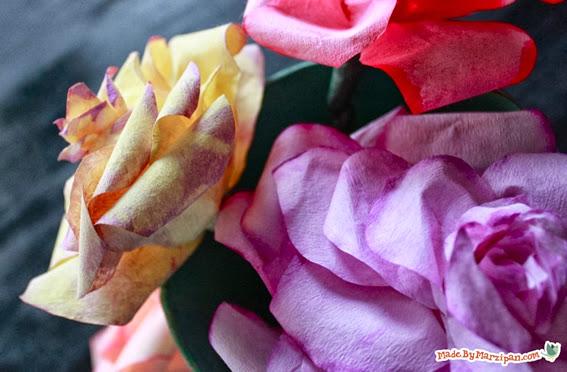 flores com reciclagem de filtro de café
