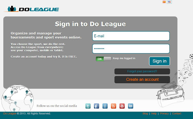 New login page on the update 0.6.5