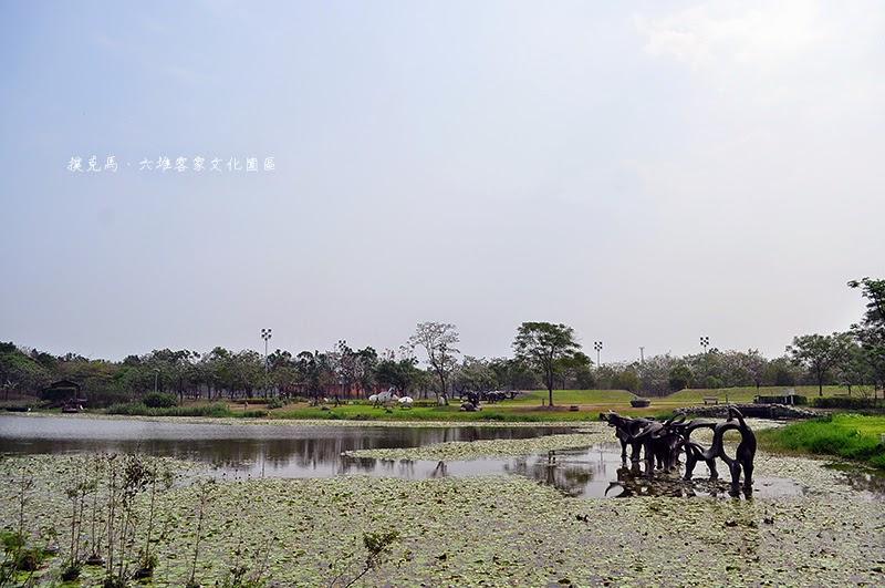六堆客家文化園區景觀池