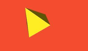 iPhone SceneKitでpyramid