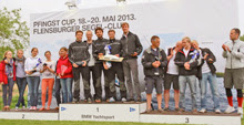 J/24 German Open winners on podium!