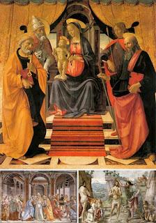 Фрески фрорентийского художника Доменико Гирландайо