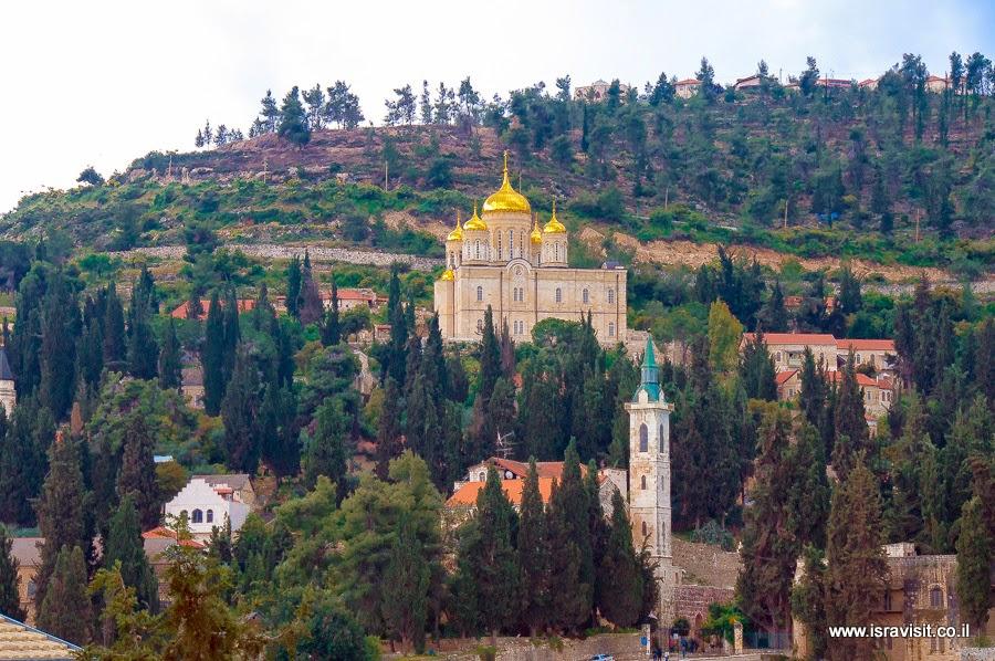 Московия, Иудейские горы, Эйн Карем. Моначтыри и церкви на Святой земле. Экскурсии в Израиле Светланы Фиалковой.