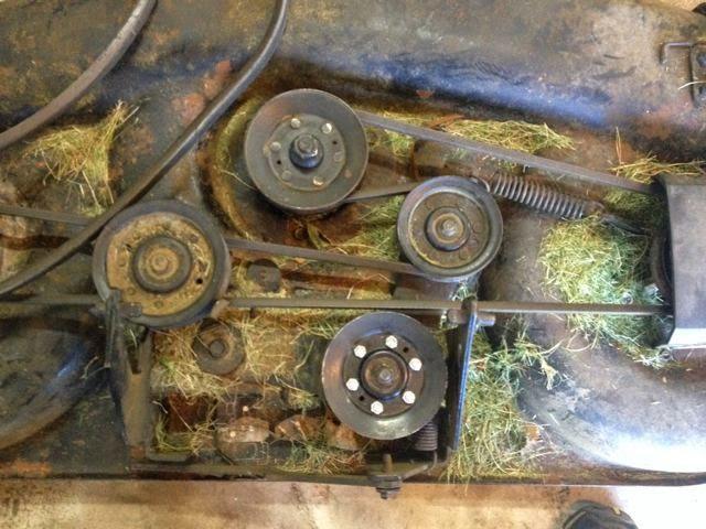 replacing bearings on idler pulleys v pulleys gt3000. Black Bedroom Furniture Sets. Home Design Ideas