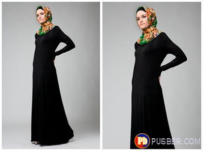 Model Dress Muslimah Terbaru Yang Anggun