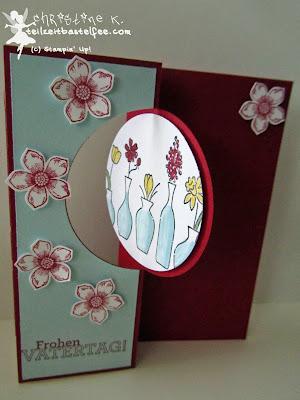 stampin up, inkspire_me, vivid vases, petite petals, delightful dozen, duftes dutzend, fathers day, vatertag