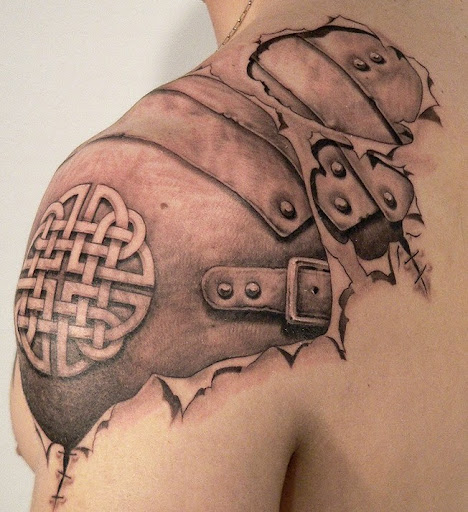 bio mechanical tattoos