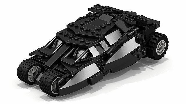 レゴクーソー バットモービルタンブラー