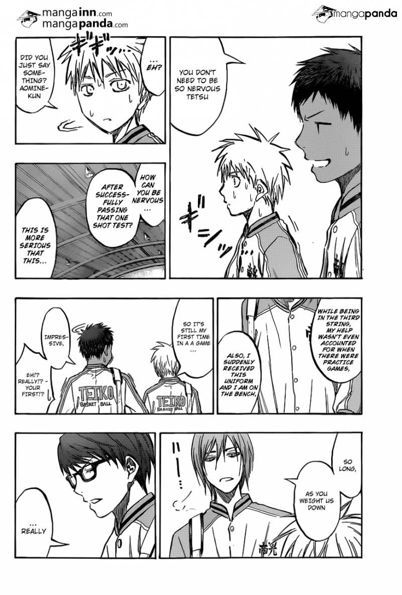 Kuroko no Basket Manga Chapter 208 - Image 04