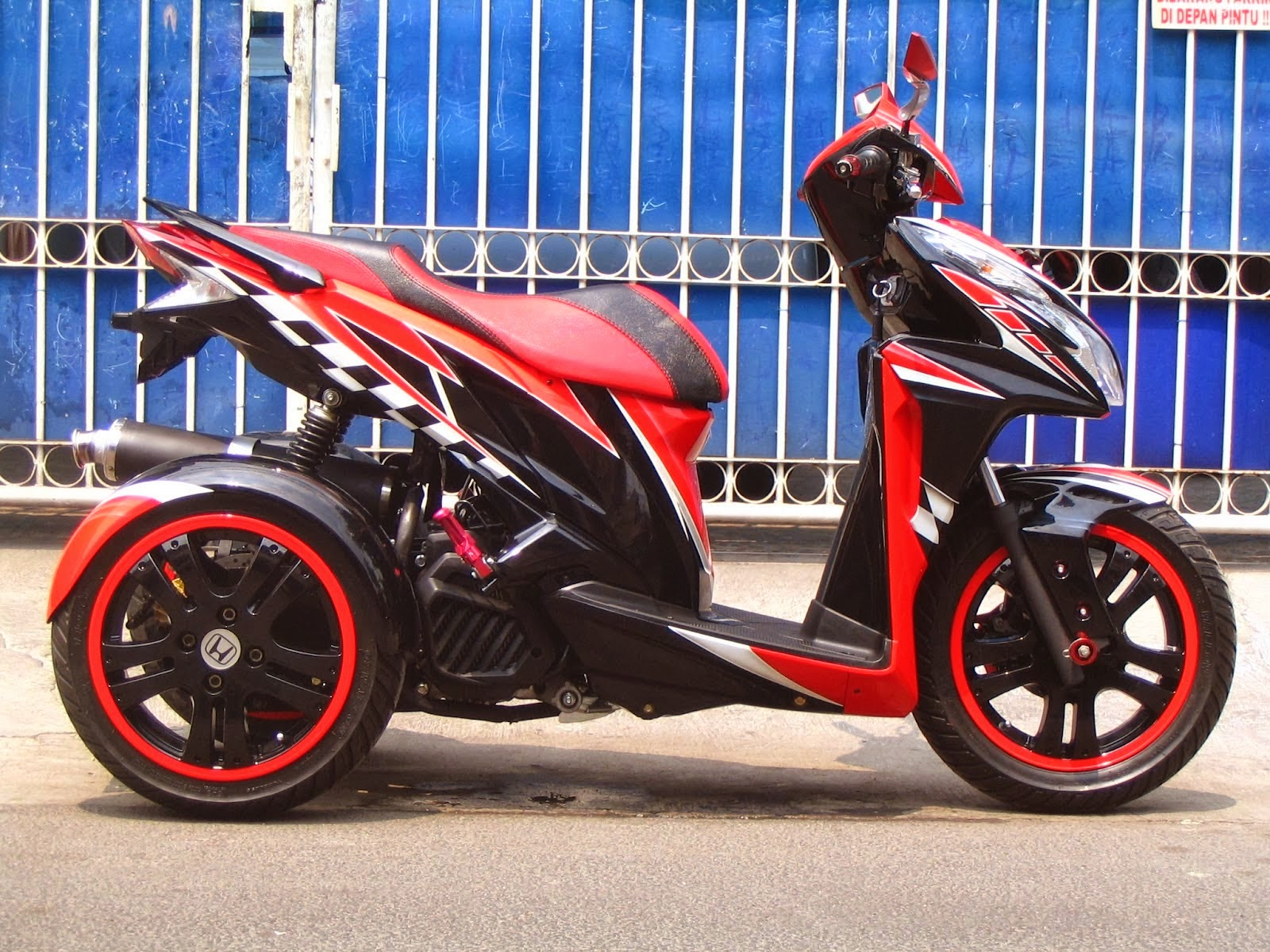 modifikasi vario techno 2012