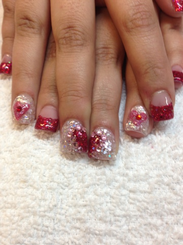 Nail art las vegas 3d valentines day nails las vegas httpsnailartlasvegas posted by 3d nail art las vegas prinsesfo Choice Image