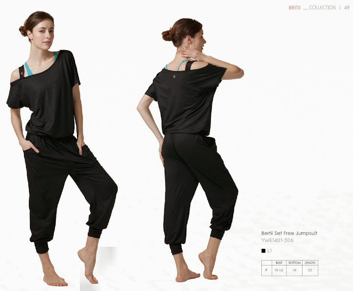 easyoga 不對稱設計休閒連身褲(ywe-1401-306)